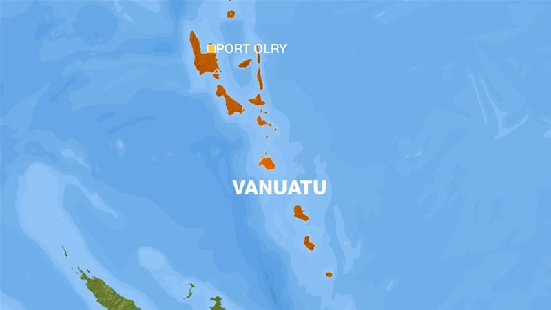 Strong Earthquake Strikes Off Vanuatus Coast Vanuatu News Al - Where is vanuatu
