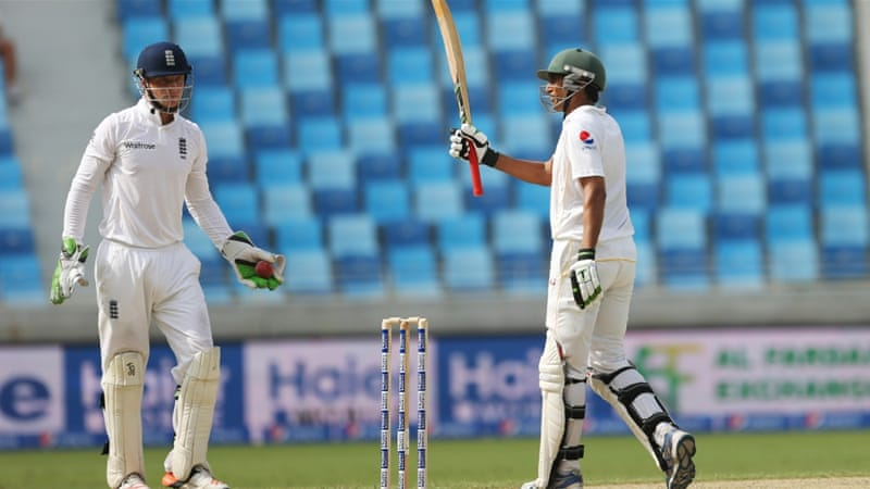 Younis became the first Pakistan batsman to reach 9,000 Test runs [Reuters]