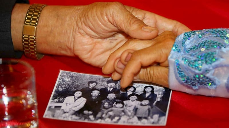 Only in the early 2000s, during a short-lived detente, did the two sides agree to have regular family reunions, writes Lankov [Reuters]