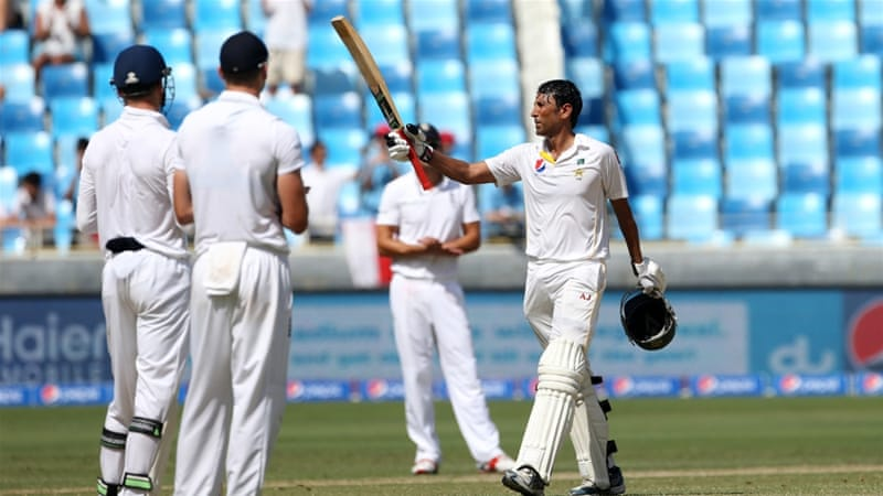 Younis Khan had earlier scored his 31st Test century [Reuters]
