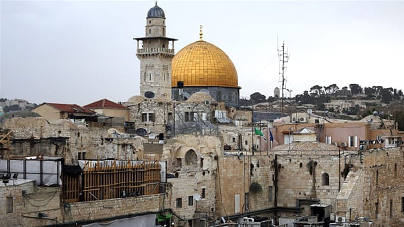 A general view shows the Al-Aqsa Mosque compound, Islam's third holiest site, in the Old City of Jerusalem [AFP]