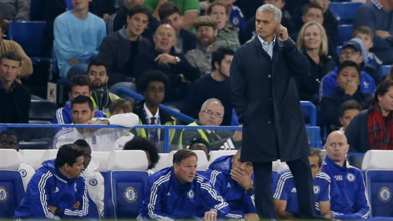 Mourinho's side has managed just eight points from eight games this season [Reuters]