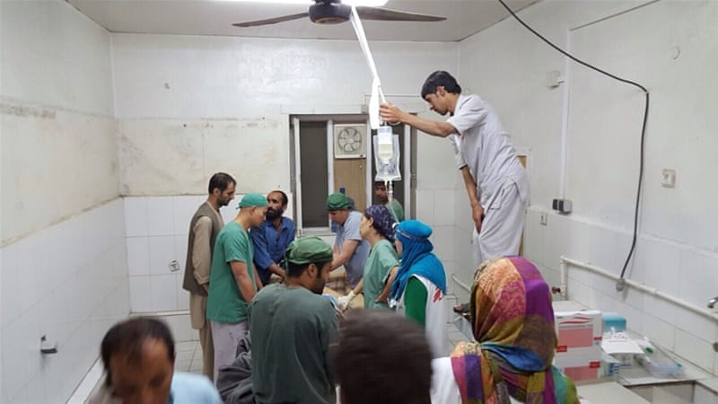 MSF's hospital in Kunduz had treated nearly 400 people, including some Taliban [MSF]