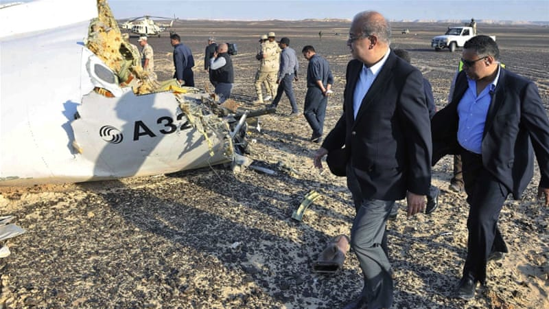 Russia mourns victims of Sinai plane crash