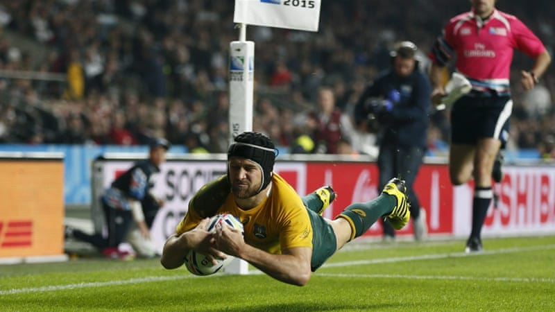 Australia will take on Wales to determine who tops the group table [Reuters]