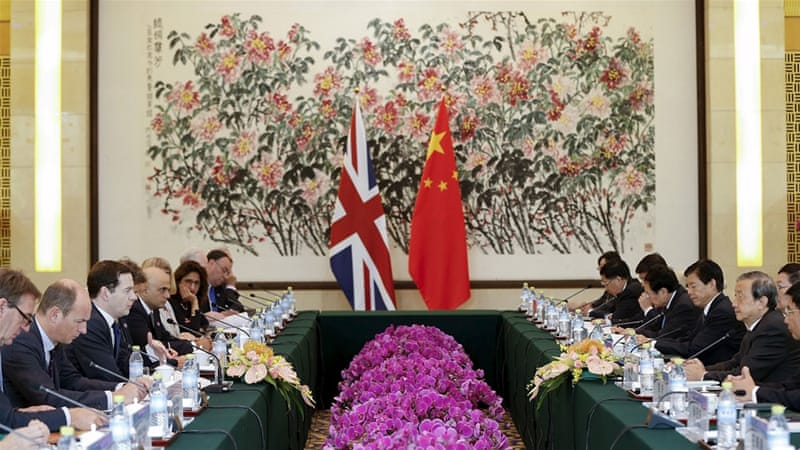 Positioning the UK to benefit from new trends in global power is key to Britain's relations with China, writes Summers [Reuters]