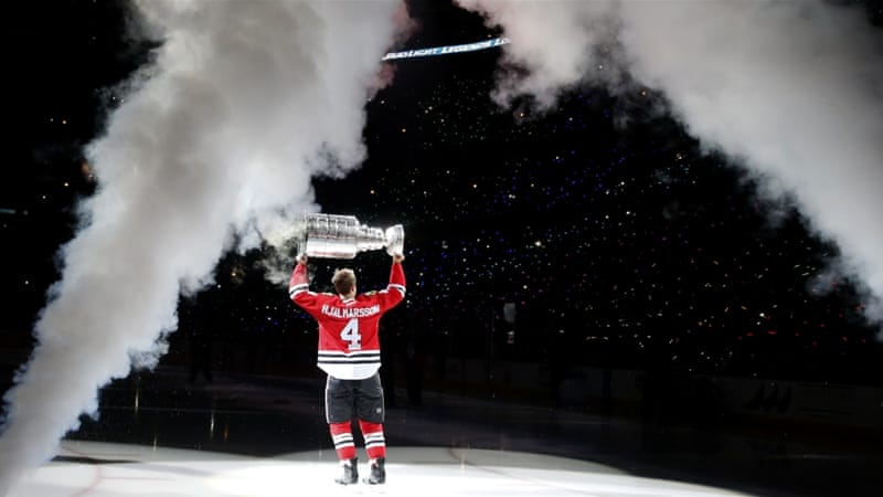 Blackhawks are the reigning Stanley Cup champions [AP]