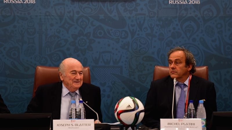 Blatter and Platini had their appeals against the suspendion turned down [Getty Images]