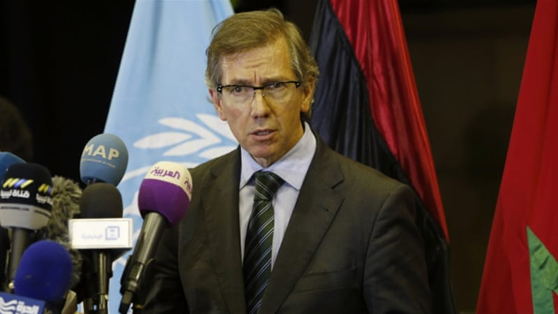 Leon, the UN envoy for Libya, said that the names of candidates for the national unity government have been decided [AP]