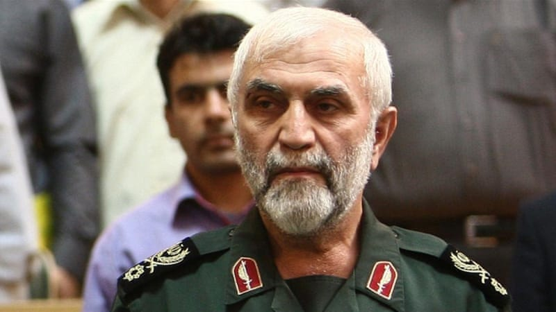Iranian military commander Brigadier General Hossein Hamedani [File: AFP/Getty]