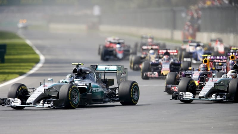 Rosberg consolidates second place with Mexico GP win