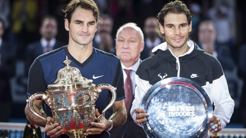 Federer was playing his 12th final in his home town [EPA]
