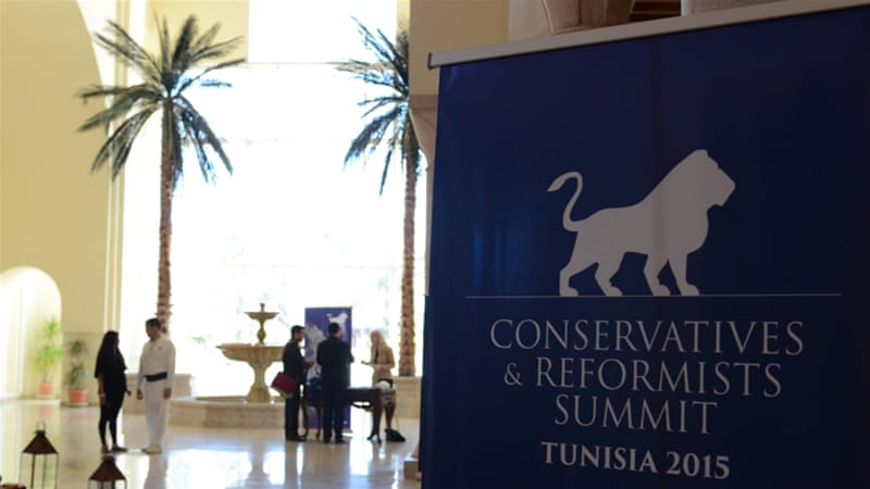 The summit, organised by centre-right parties from Europe in conjunction with Islamists in Tunisia, has been criticised for lacking a vision for the Middle East and North Africa [Al Jazeera]