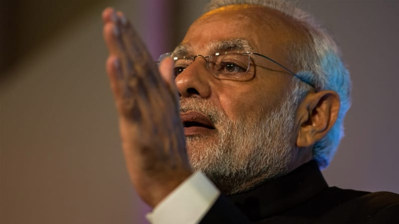 The Indian government ,led by Prime Minister Narendra Modi, has been accused by critics of curbing internet freedom [Rob Stothard/AP]