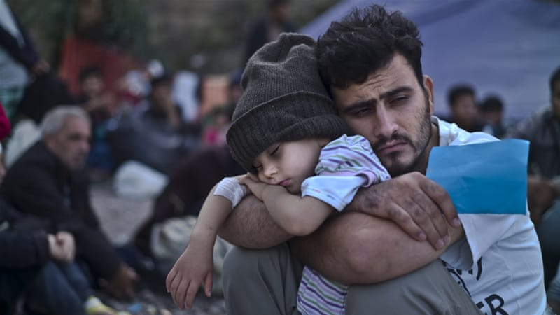 Even lawmakers from Obama's Democratic Party called for close vetting of refugees from Syria in case they are linked to ISIL [Muhammed Muheisen/AP]