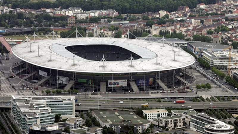 Suicide bombers had tried to enter the Stade de France in Paris [Reuters]