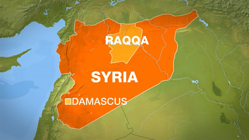 Deadly air strikes 'hit residential areas' in Raqqa