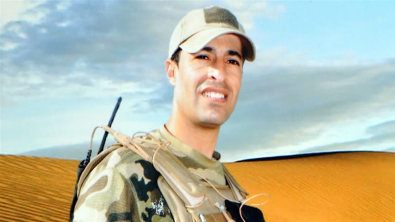 Moneem Gharsalli, a captain in the national guard working with the anti-terrorism and rapid intervention brigades was killed by fighters affiliated to ISIL [Al Jazeera]