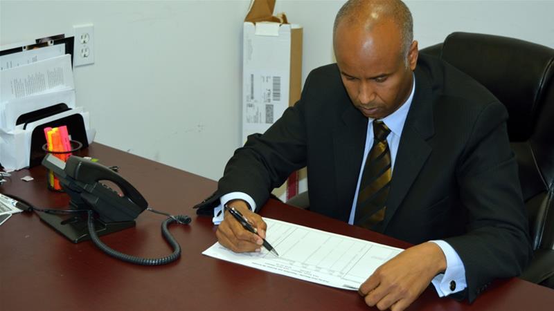 Hussen moved to Canada in 1993 following a civil war in his country of birth, Somalia [Fadi Alharbi/Al Jazeera]