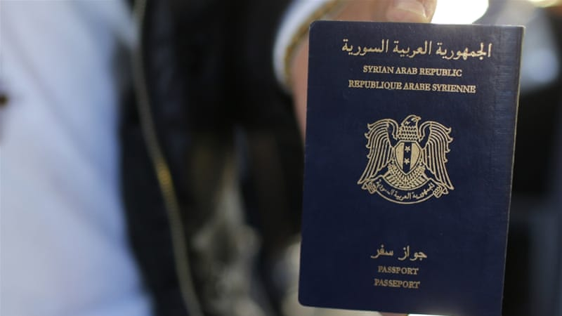 Fake Syrian passports are advertised on social media platforms [File: Stephane Mahe/Reuters]