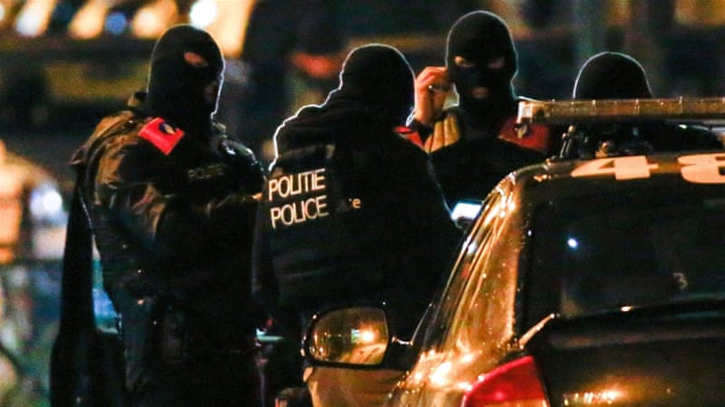Belgium has arrested 11 people so far on suspicion of involvement in the Paris attacks [Yves Herman/Reuters]