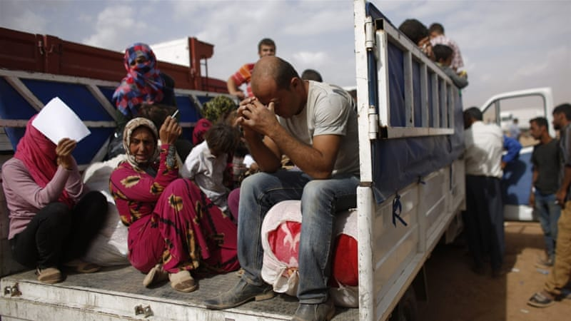 Turkey hosts the largest number of Syrian refugees with a figure as high as 2.2 million [Reuters]