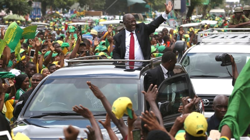 President John Magufuli is nicknamed 'The Bulldozer' for his no-nonsense, results-driven way of doing politics [Reuters]