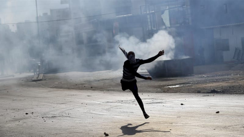 Clashes between Israeli forces and Palestinians have been growing and spreading throughout the occupied West Bank, including East Jerusalem [Mohamad Torokman/Reuters]