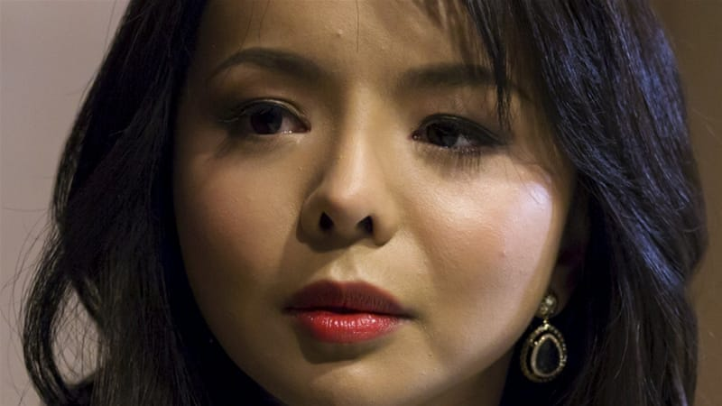 Miss World Canada Anastasia Lin [REUTERS]