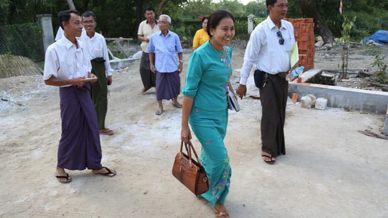 Only 15 percent of the candidates in Myanmar's parliamentary elections are women [Ted Regencia/Al Jazeera]