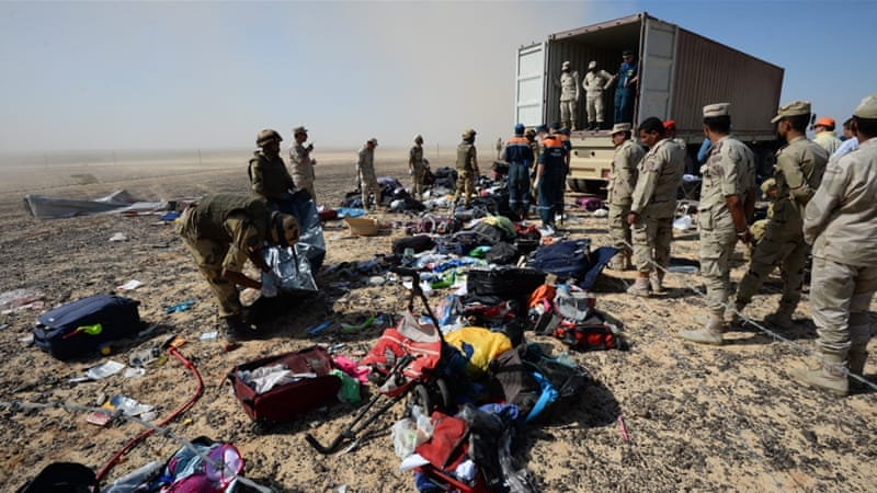 Egyptian security efforts in the Sinai have suffered major setbacks, including the October 31 downing of a Russian airliner [AP]
