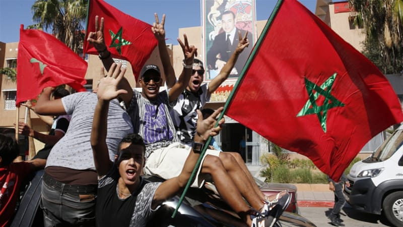 Moroccan unions were on strike for 24 hours to protest against the government attempt to overhaul pensions [Abdeljalil Bounhar/AP]
