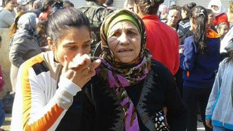 Most of the 215 civilians abducted in February 2015 were elderly women [Assyrian Network for Human Rights]