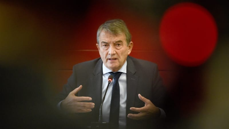 Niersbach is currently being investigated for tax evasion [EPA]