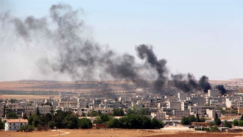 Kurdish YPG fighters have been engaged in fierce battles with ISIL, including in the border town of Kobane [EPA]