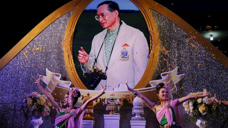 Under Thai law anyone convicted of insulting king or queen, heir or regent can face up to 15 years in jail on each count [Reuters]