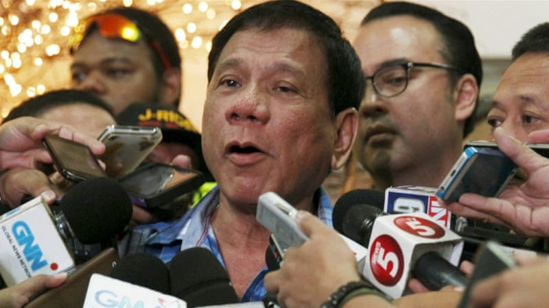 Outcry as Filipino presidential nominee admits killings