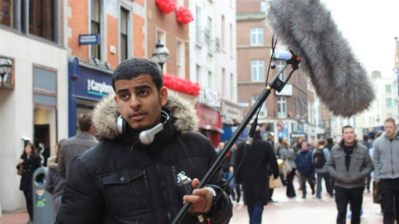 Ibrahim Halawa and his lawyers deny charges of an alleged role in violence during protests in Cairo in August 2013 [Courtesy of Somaia Halawa]