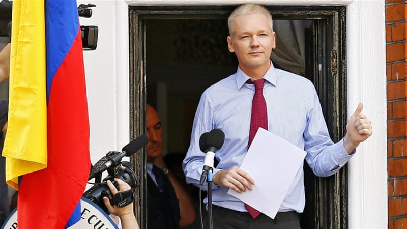 Assange took refuge in Ecuador's London embassy in June 2012 [File: Kerim Okten/EPA]