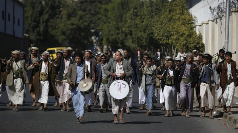 The Houthis have been accused of a human rights crack down for shutting down organisations and arresting activists [File photo: Hani Mohammed/AP]