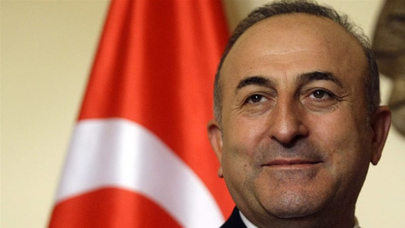 Turkish Foreign Minister Mevlut Cavusoglu says Russia has put itself in a 'ridiculous position' [Andrej Cukic/EPA]