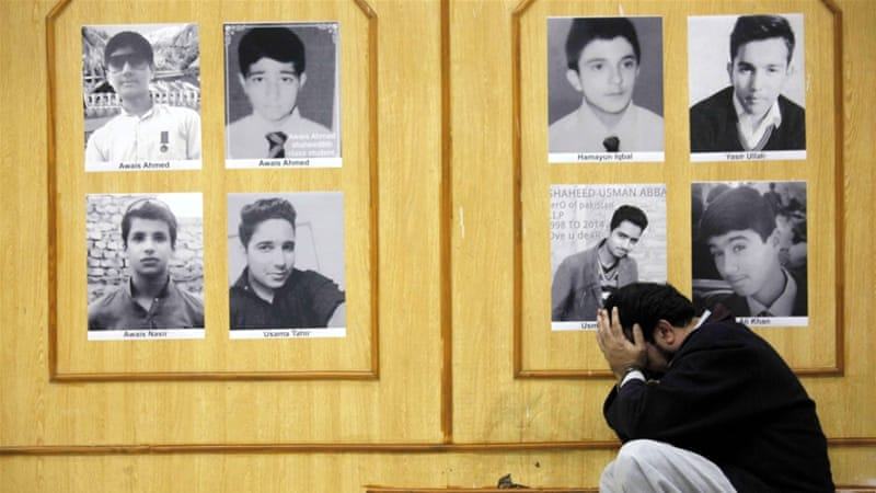 Pakistan lifted a six-year moratorium on the death penalty after an attack on a Peshawar school killed 136 children [EPA]