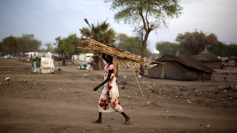 The war in South Sudan has forced one million people from their homes and left four million others hungry [EPA]