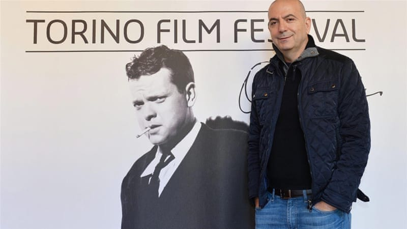 Palestinian director Hany Abu-Assad at the 33rd Torino Film Festival in November [EPA]