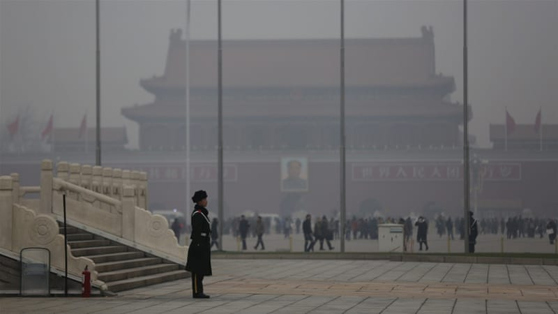 Beijing issued its first 'red alert' last week following criticism that previous smog had failed to trigger the highest warnings [File: EPA]
