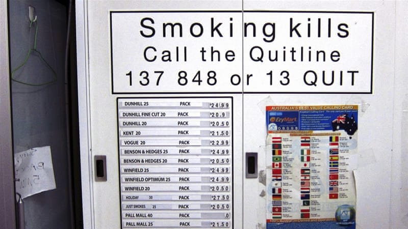 Plain cigarette packaging likely to snowball globally