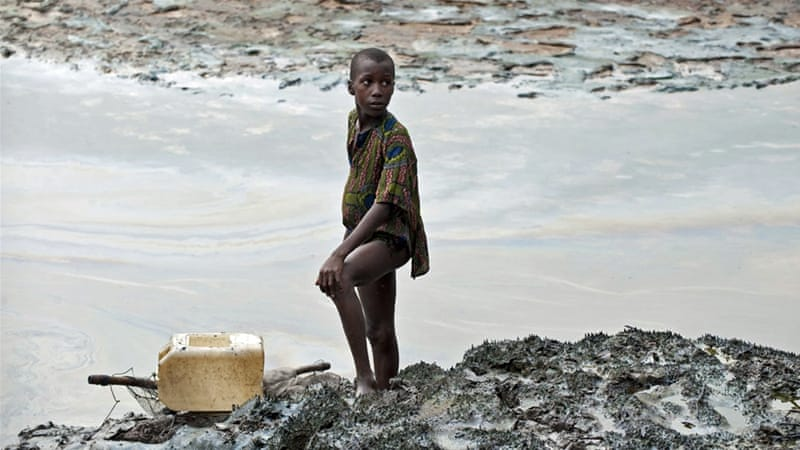 Nigerian communities say oil spills have caused a major increase in serious health problems [EPA]