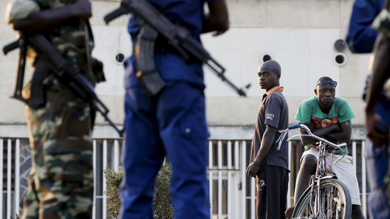 Burundi Using Violence Against