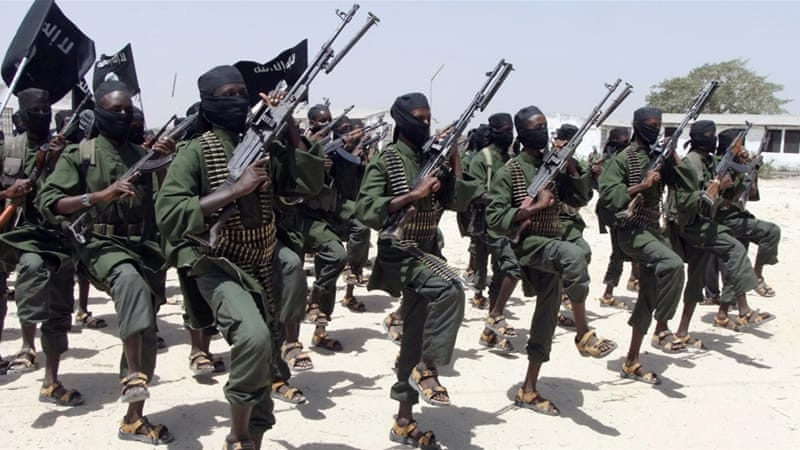 Al-Shabab said they had safely removed the missiles from the drone [AP]