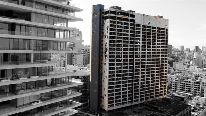 The scars of war on Lebanon's Holiday Inn   News   Al Jazeera